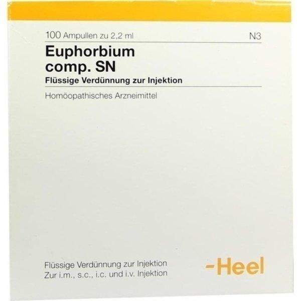 EUPHORBIUM COMPOSITUM SN Ampullen 100 St