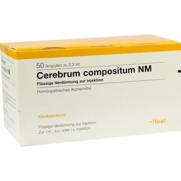 CEREBRUM COMPOSITUM NM Ampullen 50 St