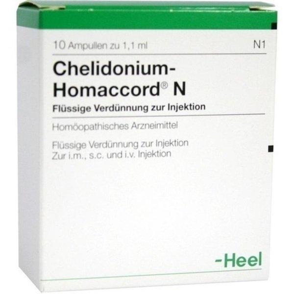CHELIDONIUM-HOMACCORD N Ampullen 10 St