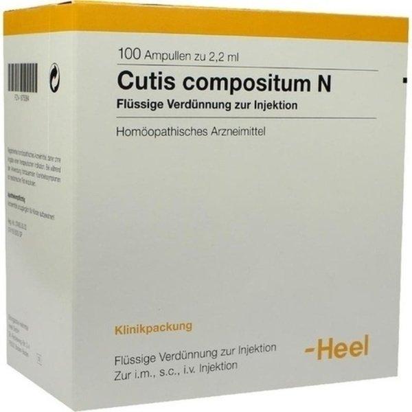 CUTIS compositum N Ampullen 100 St