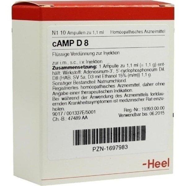 CAMP D 8 Ampullen 10 St