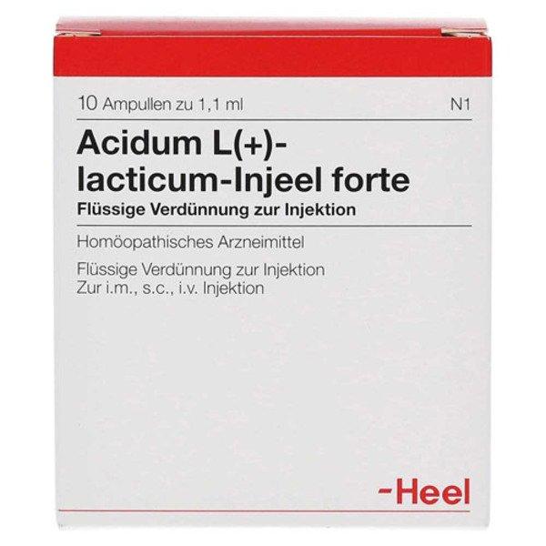 ACIDUM L-LACTICUM Injeel forte Ampullen 10 St
