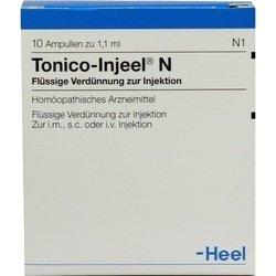 TONICO Injeel N Ampullen 10 St