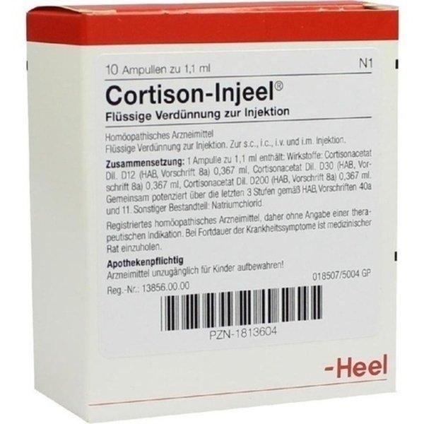 CORTISON Injeel Ampullen 10 St