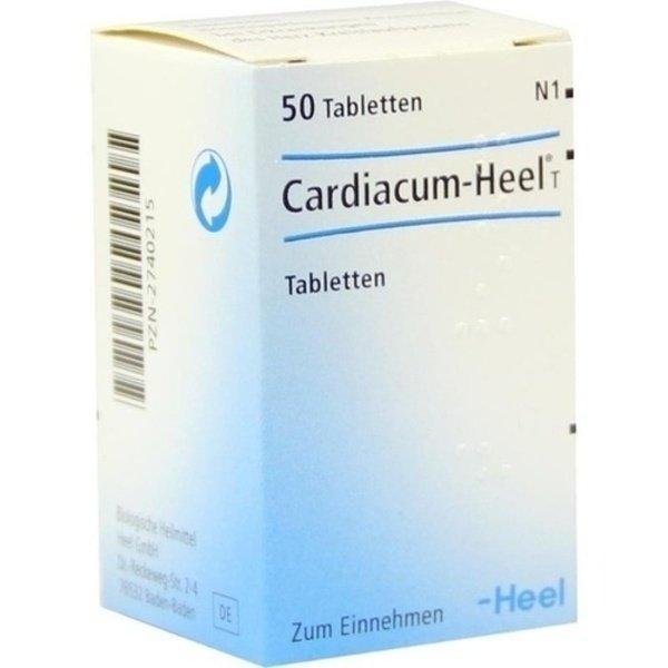 CARDIACUM Heel T Tabletten 50 St