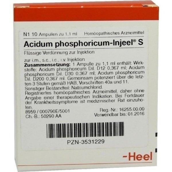 ACIDUM PHOSPHORICUM INJEEL S Ampullen 10 St