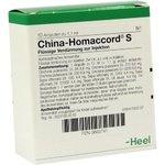CHINA HOMACCORD S Ampullen 10 St