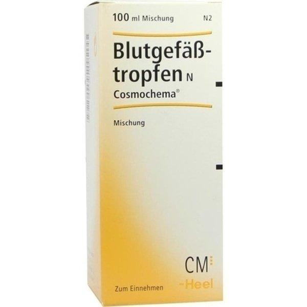 BLUTGEFÄSSTROPFEN N Cosmochema 100 ml