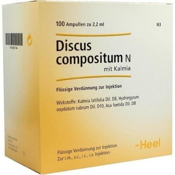 DISCUS compositum N mit Kalmia Ampullen 100 St
