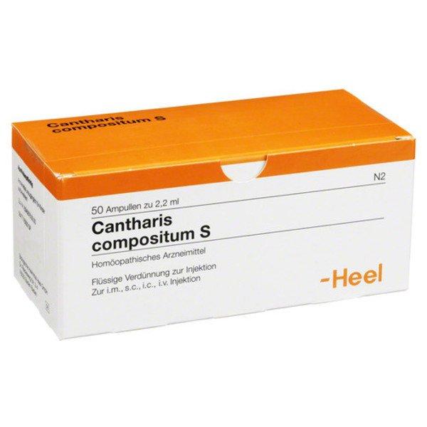 CANTHARIS COMPOSITUM S Ampullen 50 St