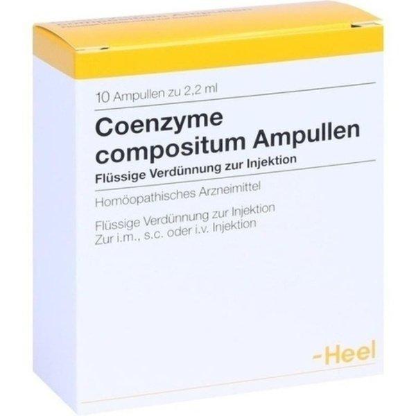 COENZYME COMPOSITUM Ampullen 10 St