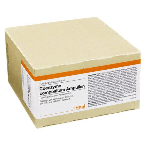 COENZYME COMPOSITUM Ampullen 100 St