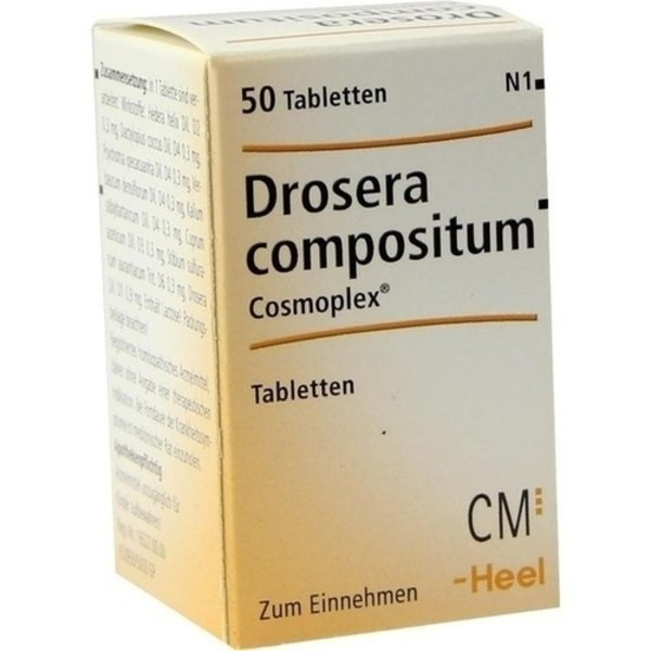 DROSERA COMPOSITUM Cosmoplex Tabletten 50 St