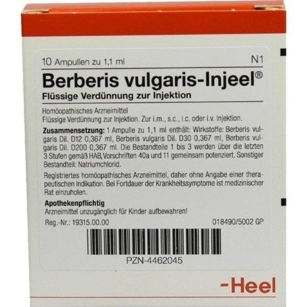 BERBERIS VULGARIS INJEEL Ampullen 10 St