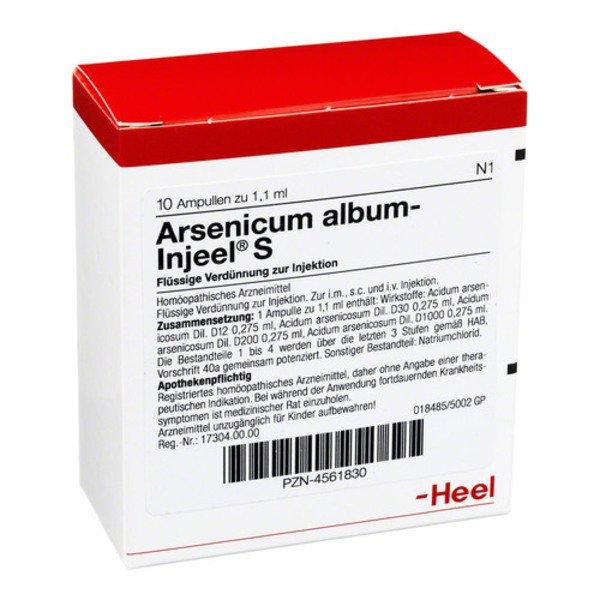 ARSENICUM ALBUM INJEEL S Ampullen 10 St