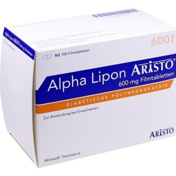 ALPHA LIPON Aristo 600 mg Filmtabletten 100 St
