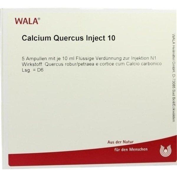 CALCIUM QUERCUS Inject 10 Ampullen 5X10 ml