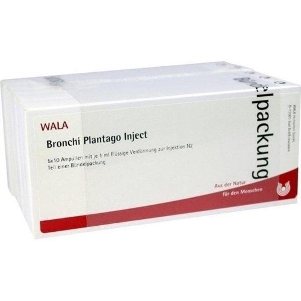 BRONCHI PLANTAGO Inject Ampullen 50X1 ml