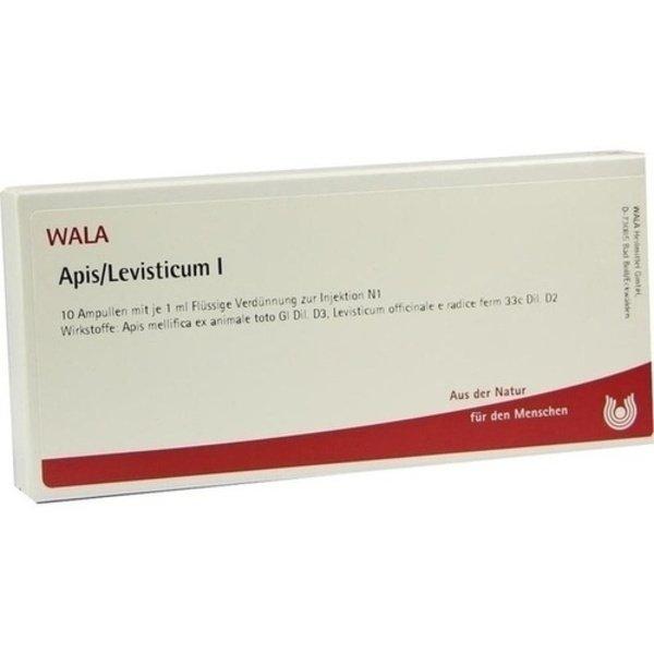 APIS/LEVISTICUM I Ampullen 10X1 ml