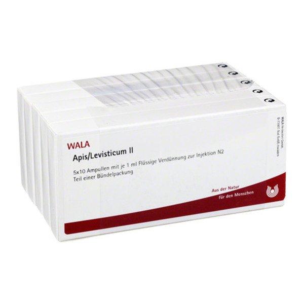 APIS/LEVISTICUM II Ampullen 50X1 ml