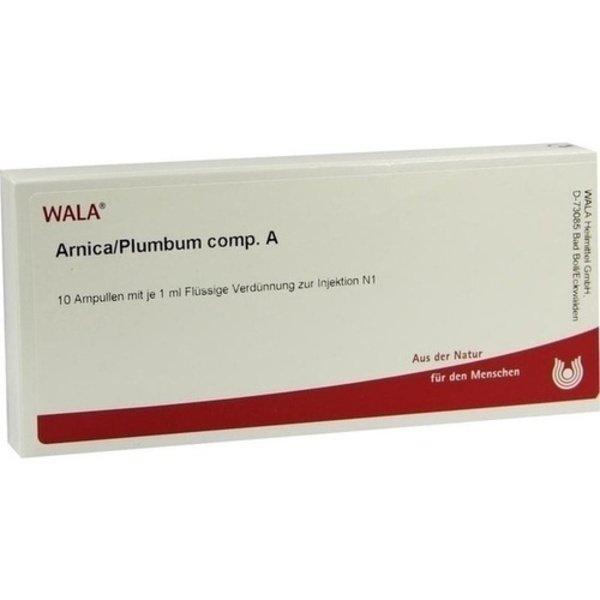 ARNICA/PLUMBUM comp.A Ampullen 10X1 ml