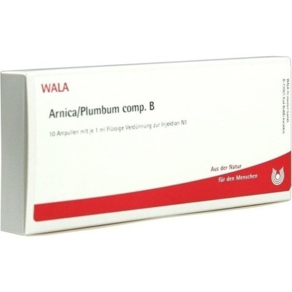 ARNICA/PLUMBUM comp.B Ampullen 10X1 ml