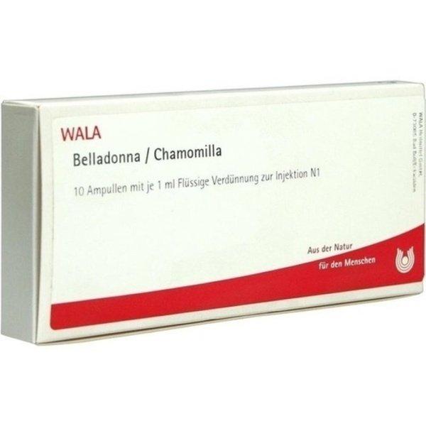 BELLADONNA CHAMOMILLA Ampullen 10X1 ml