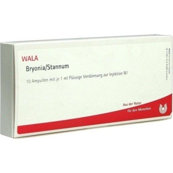 BRYONIA STANNUM Ampullen 10X1 ml
