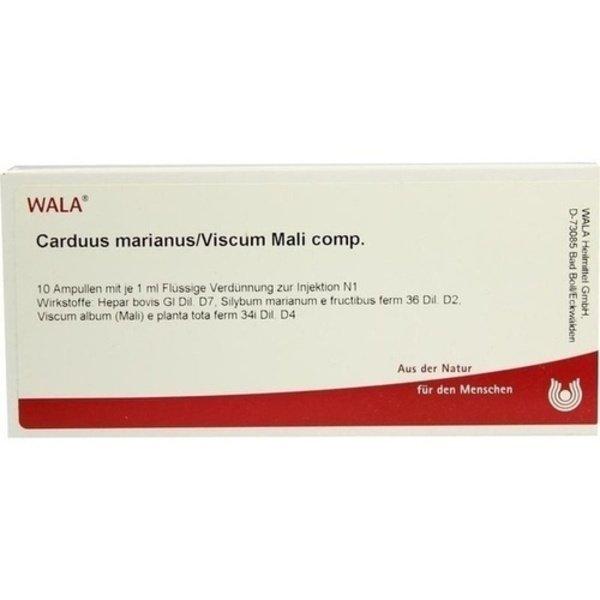 CARDUUS MARIANUS/VISCUM mali comp.Ampullen 10X1 ml