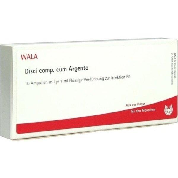 DISCI comp.cum Argento Ampullen 10X1 ml