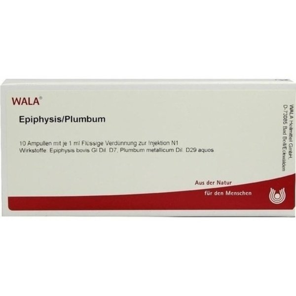 EPIPHYSIS/PLUMBUM Ampullen 10X1 ml