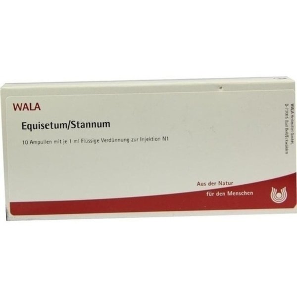 EQUISETUM/STANNUM Ampullen 10X1 ml