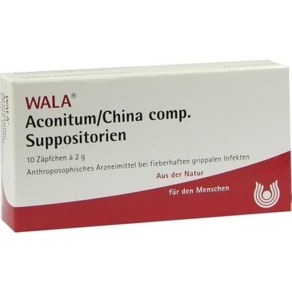 ACONITUM/CHINA comp.Suppositorien 10X2 g