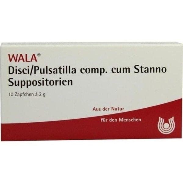 DISCI/Pulsatilla comp.cum Stanno Suppositorien 10X2 g