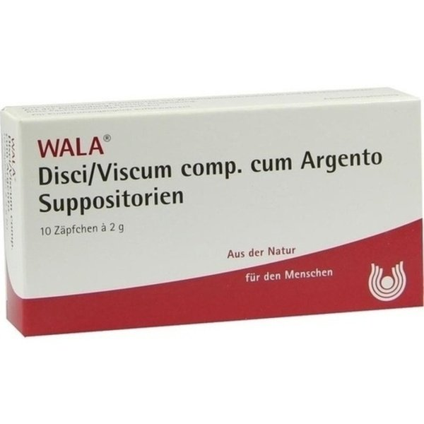 DISCI/Viscum comp.cum Argento Suppositorien 10X2 g