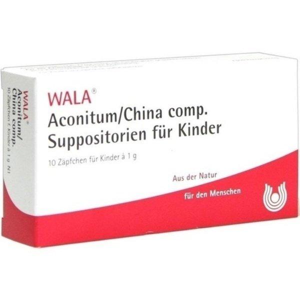 ACONITUM/CHINA comp.Kindersuppositorien 10X1 g