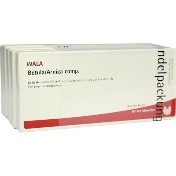 BETULA/ARNICA comp.Ampullen 50X1 ml