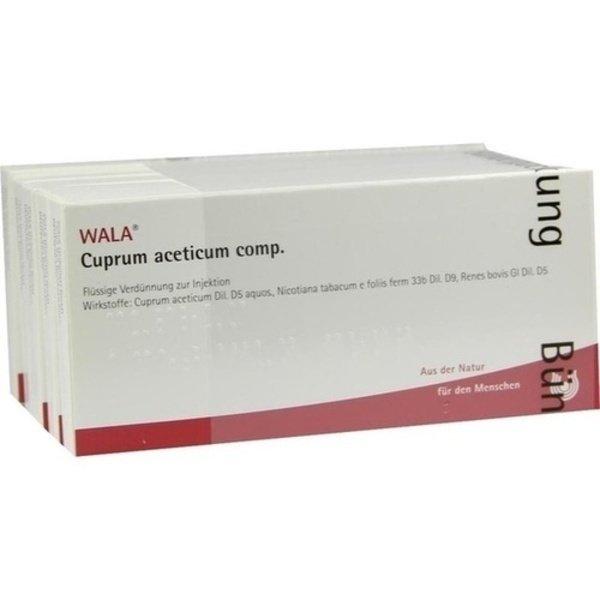 CUPRUM ACETICUM COMP.Ampullen 50X1 ml