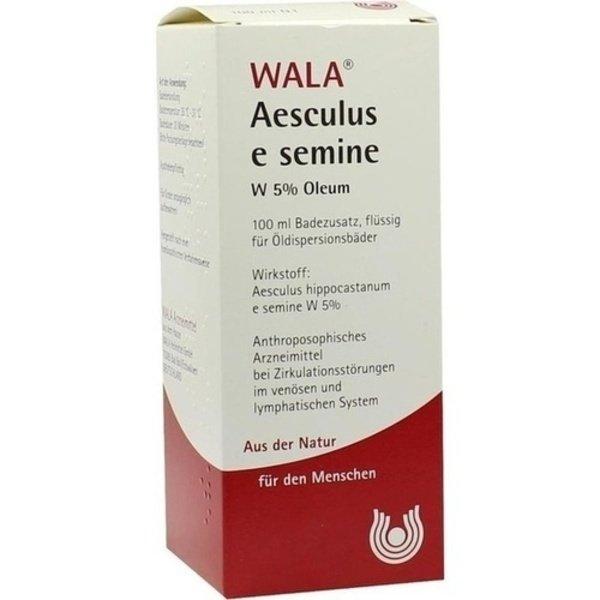 AESCULUS E semine W5% Öl 100 ml