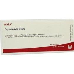 BRYONIA ACONITUM Ampullen 10X1 ml
