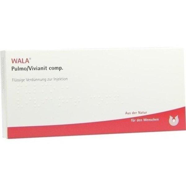 PULMO/ VIVIANIT COMP. Ampullen 10X1 ml