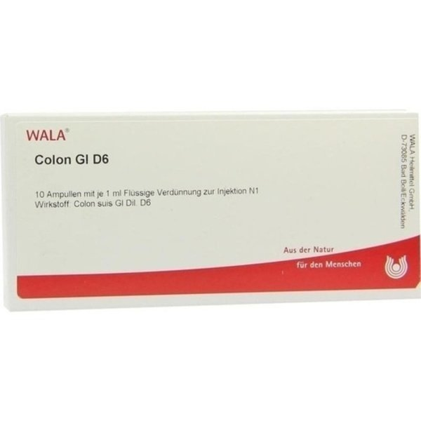 COLON GL D 6 Ampullen 10X1 ml