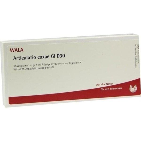 ARTICULATIO coxae GL D 30 Ampullen 10X1 ml