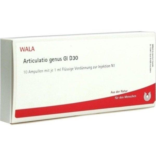 ARTICULATIO genus GL D 30 Ampullen 10X1 ml