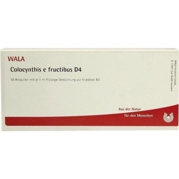 COLOCYNTHIS E fructibus D 4 Ampullen 10X1 ml