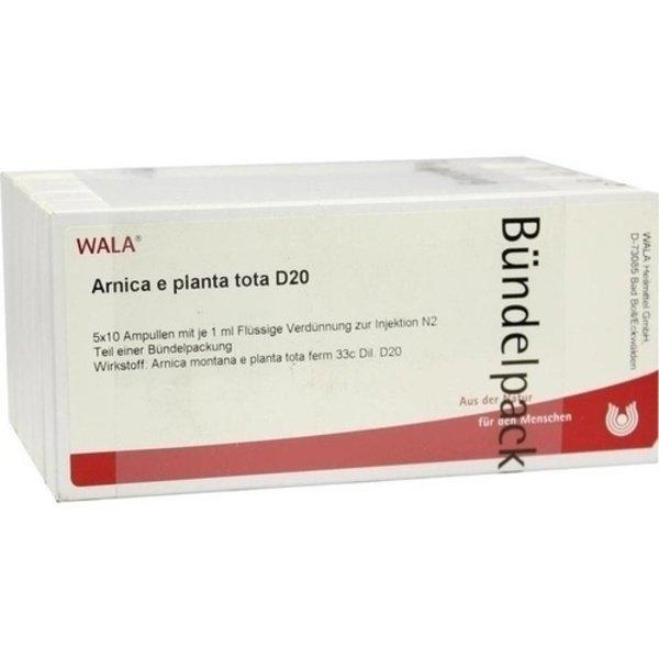 ARNICA E Planta tota D 20 Ampullen 50X1 ml