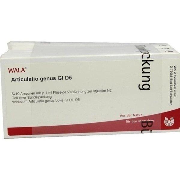 ARTICULATIO genus GL D 5 Ampullen 50X1 ml
