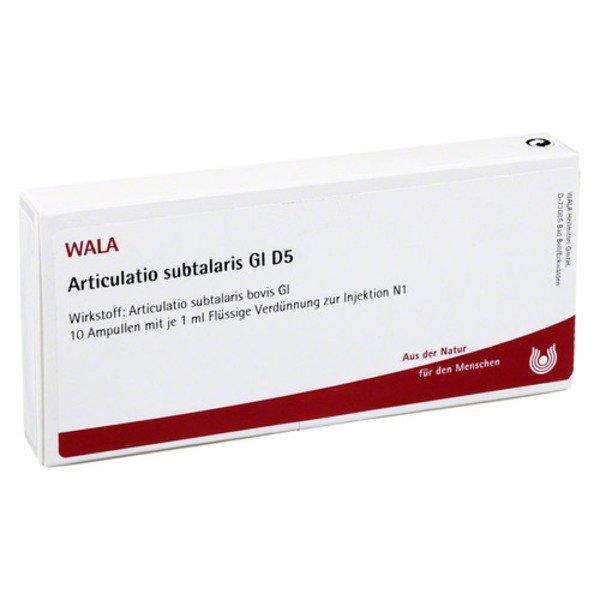 ARTICULATIO subtalaris GL D 5 Ampullen 10X1 ml