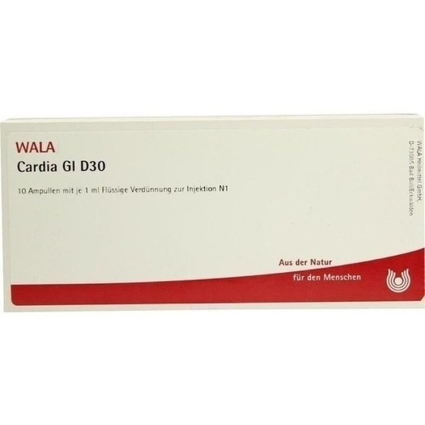 CARDIA GL D 30 Ampullen 10X1 ml