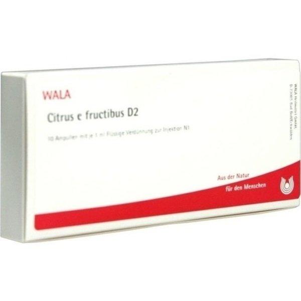 CITRUS E FRUCTIBUS D 2 Ampullen 10X1 ml